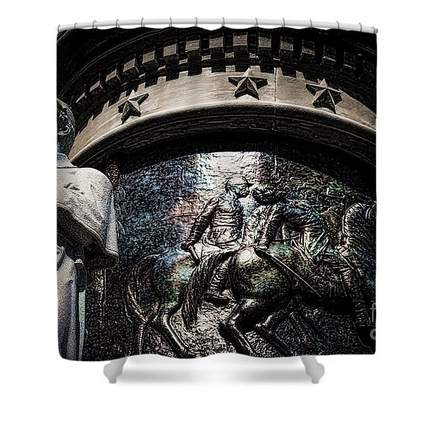 Clarity Of War IIi Shower Curtain
