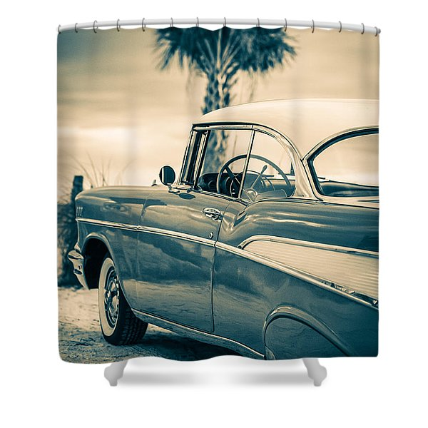 Classic Chevy Bel Air '57 Shower Curtain