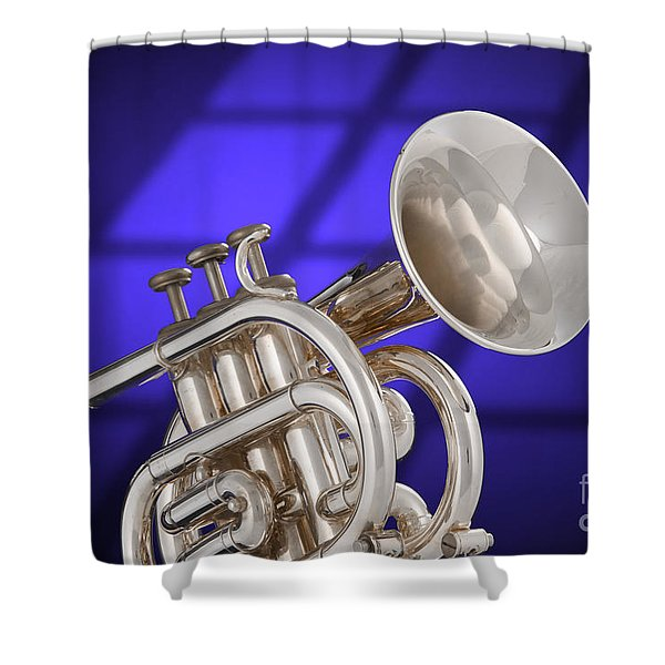 Classic Cornet Shower Curtain