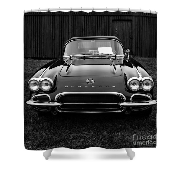 Classic Corvette Shower Curtain