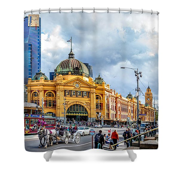 Classic Melbourne Shower Curtain