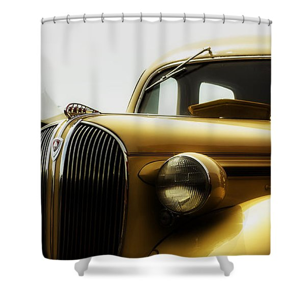 Classic Plymouth Shower Curtain