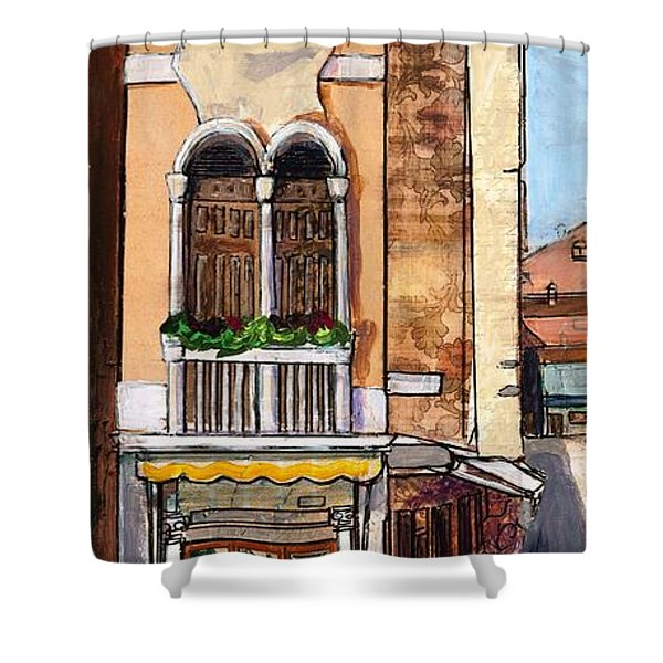 Classic Venice Shower Curtain