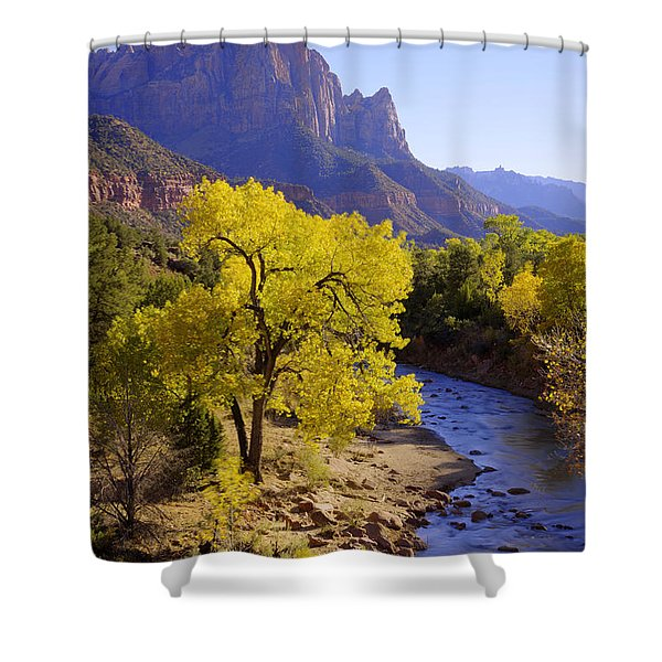 Classic Zion Shower Curtain