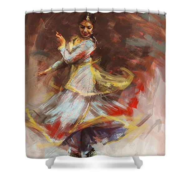 Classical Dance Art 8 Shower Curtain