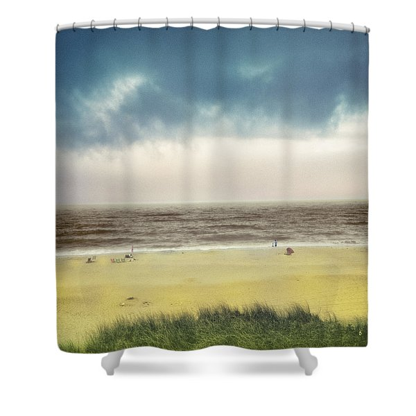 Clearing Storm Montauk  Shower Curtain