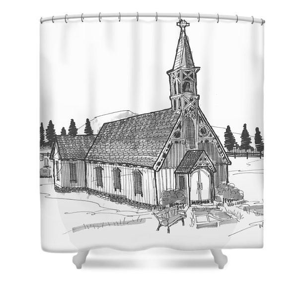 Clermont Chapel Shower Curtain