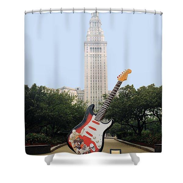 Cleveland Rocks Shower Curtain