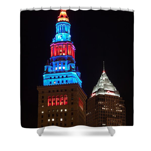 Cleveland Towers Shower Curtain