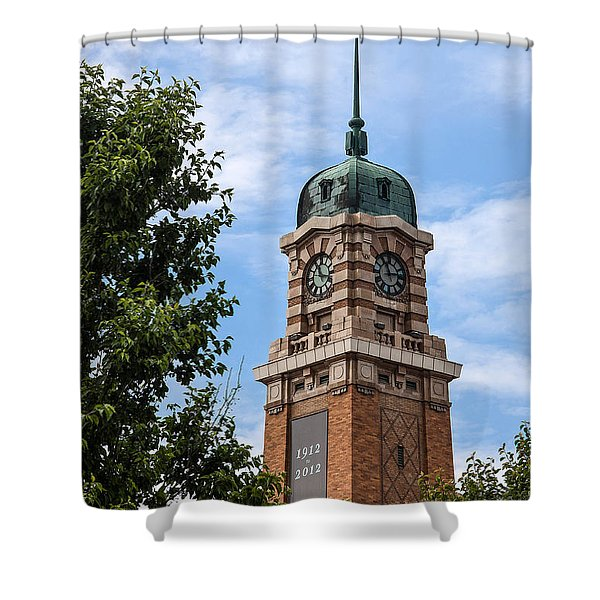 Cleveland West Side Market Tower Shower Curtain