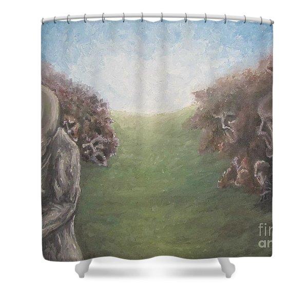 Closure Shower Curtain