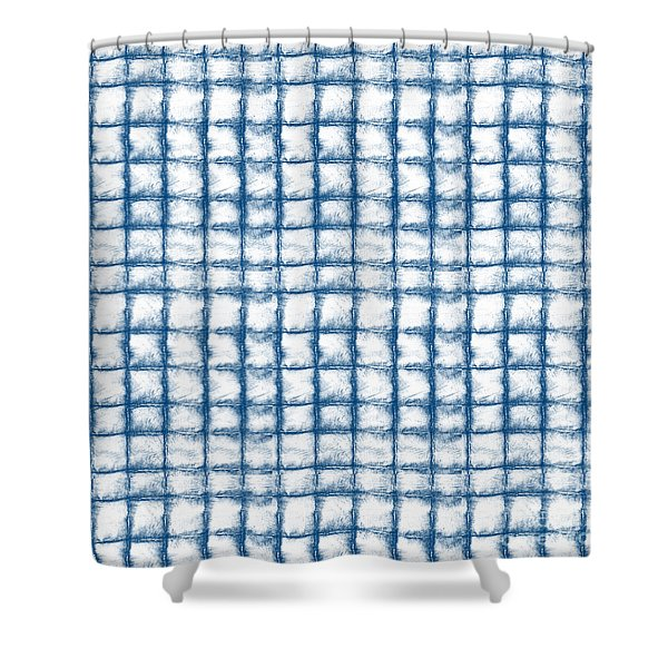 Cloud Boxes Shower Curtain