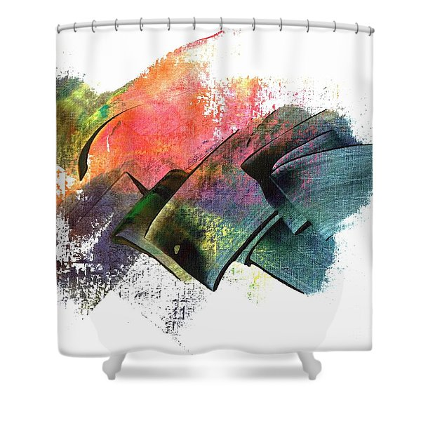 Clouded Judgement Shower Curtain