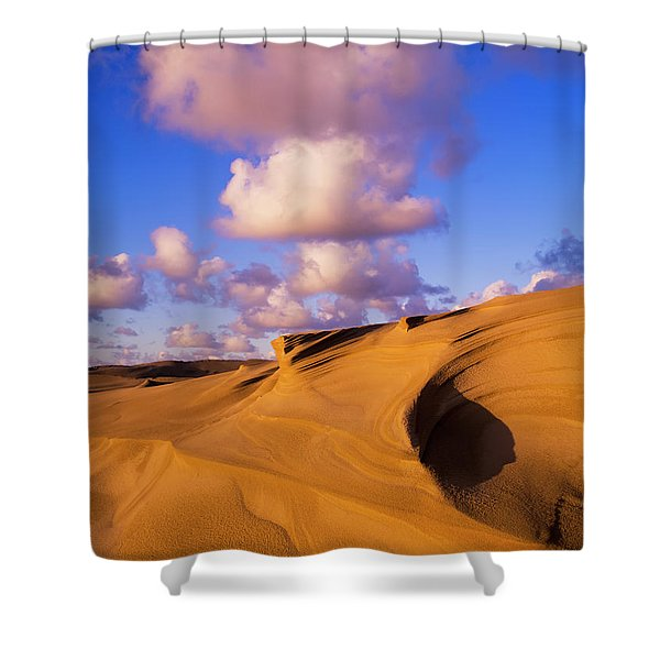 Clouds And Dunes Are Shape-shifters Shower Curtain
