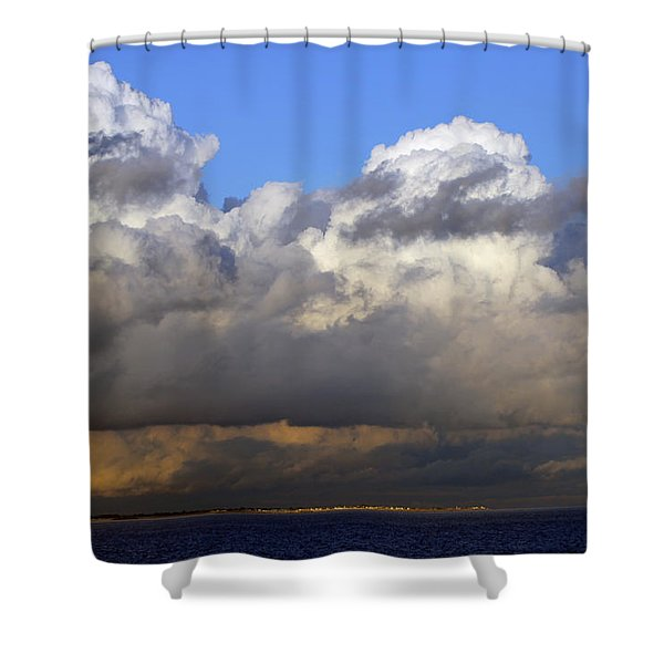 Clouds Over Portsmouth Shower Curtain