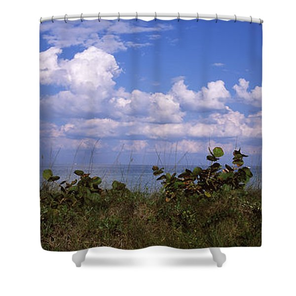 Clouds Over The Sea, Tampa Bay, Gulf Of Shower Curtain