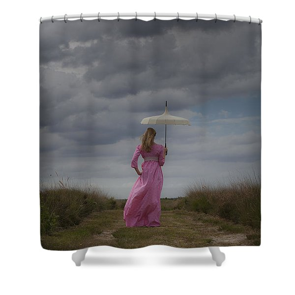 Cloudy Shower Curtain