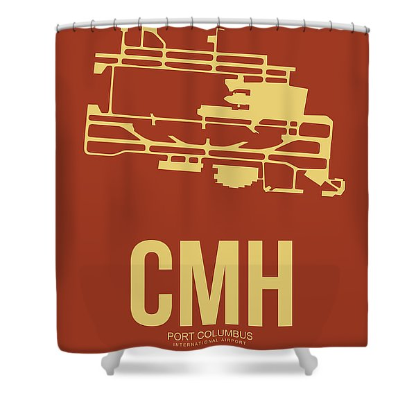 Cmh Columbus Airport Poster 1 Shower Curtain