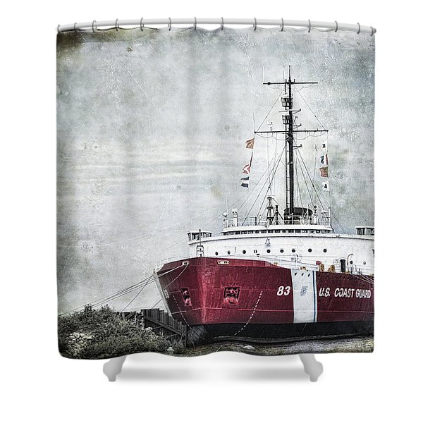 Coast Guard Shower Curtain