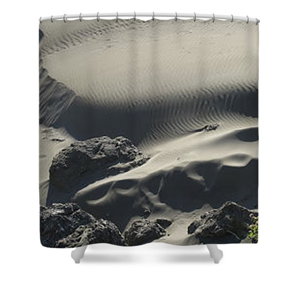 Coastal Dunes Sand Box - Southern Oregon Shower Curtain