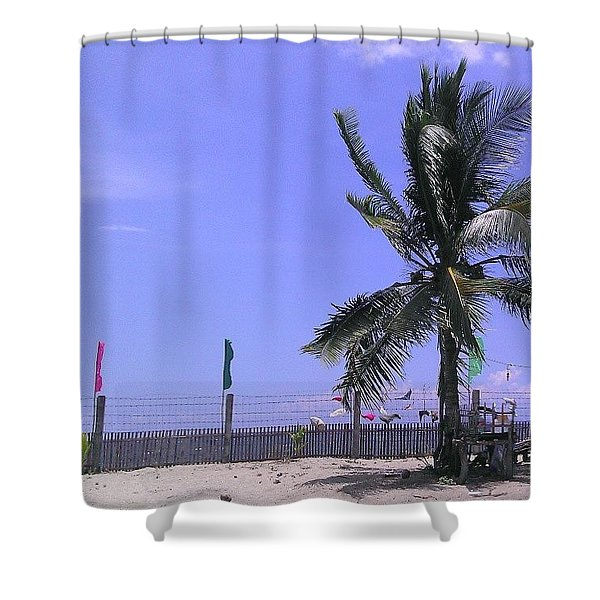 Coconut Shower Curtain