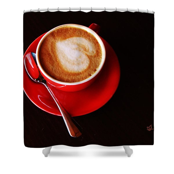 Coffee For Lovers Shower Curtain