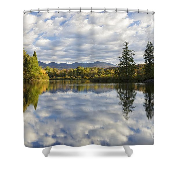 Shower Curtain featuring the photograph Coffin Pond - Sugar Hill, New Hampshire by Erin Paul Donovan