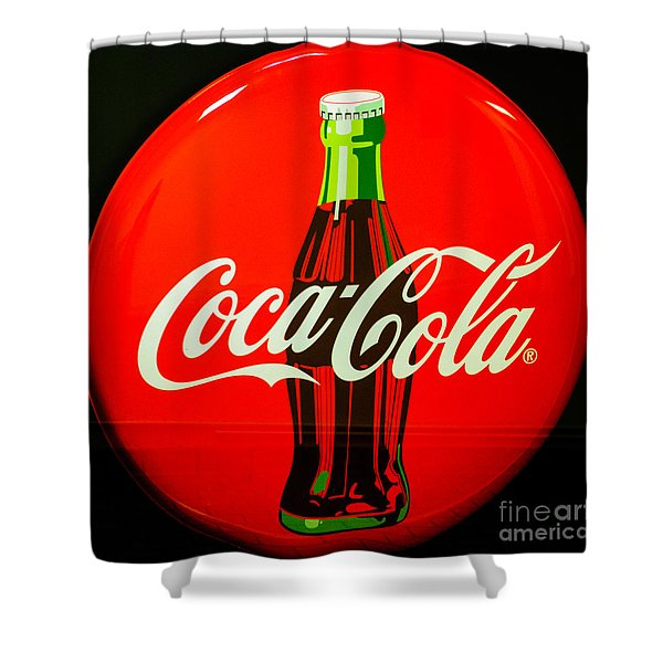 Coke Top Shower Curtain