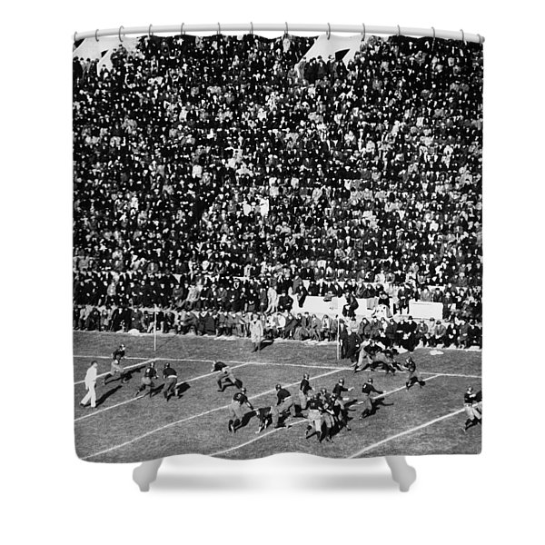 College Football Game, 1921 Shower Curtain