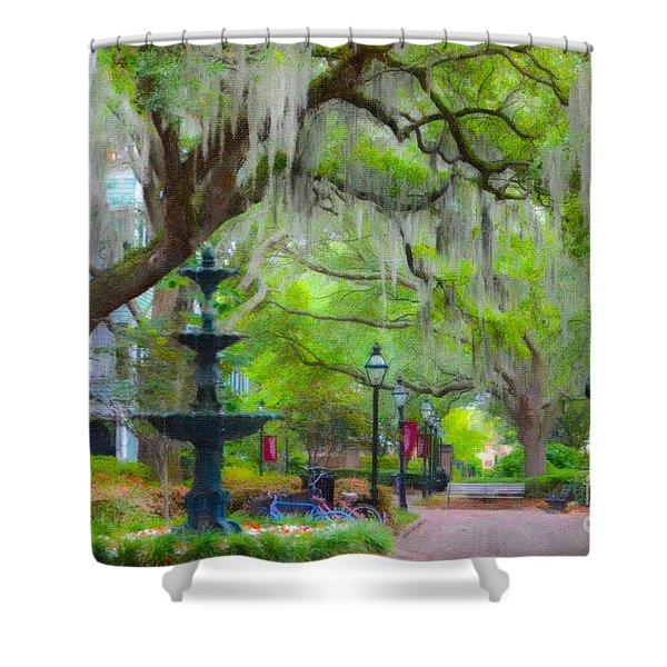 College Of Charleston Shower Curtain