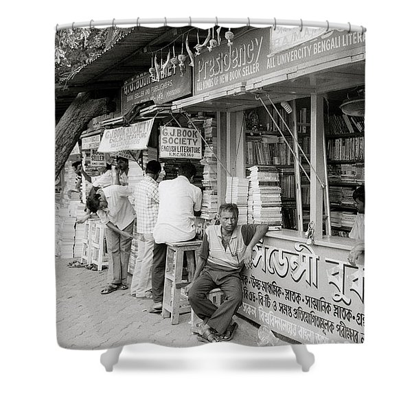 College Street Calcutta  Shower Curtain