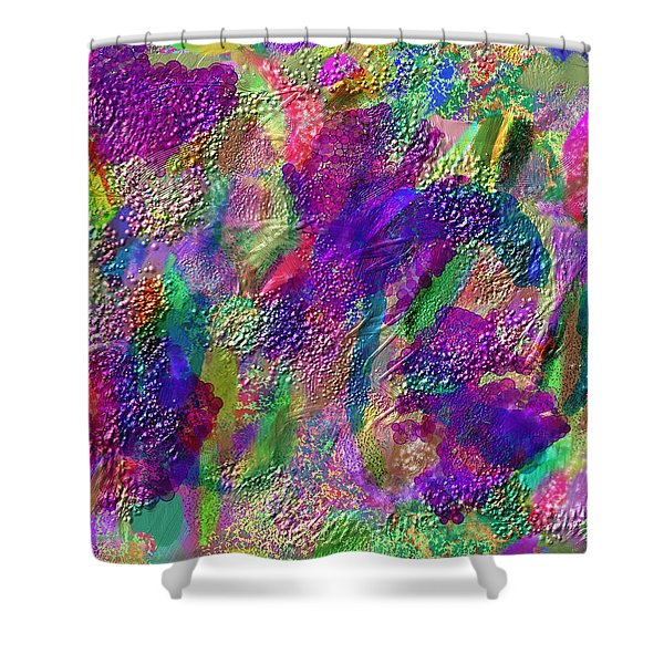 Color Dream Play Shower Curtain