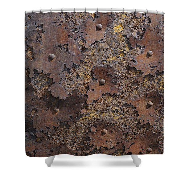 Color Of Steel 2 Shower Curtain