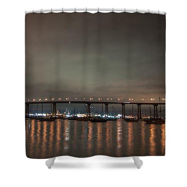Coronado Bridge San Diego Shower Curtain
