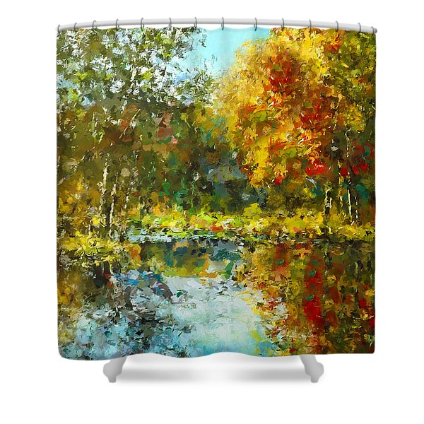 Colorful Dreams Shower Curtain