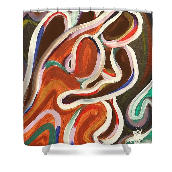 Colorful Evenings Shower Curtain