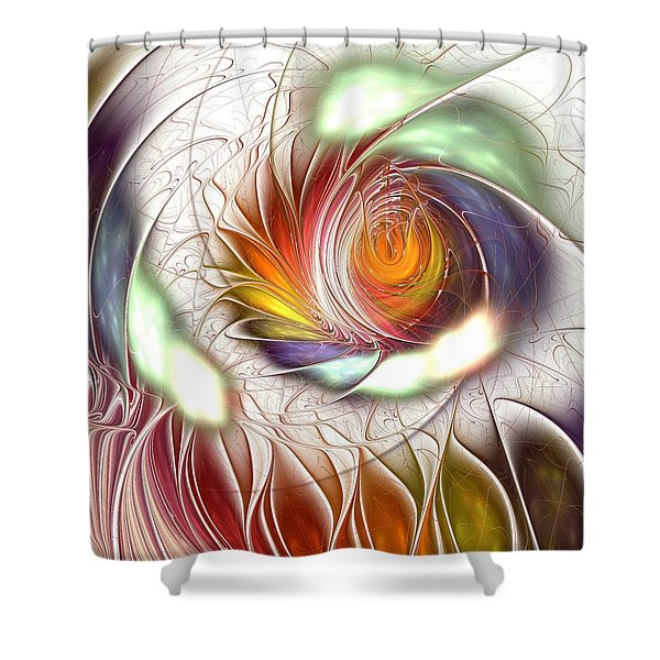 Colorful Promenade Shower Curtain