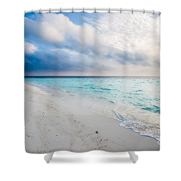 Colors Of Paradise Shower Curtain