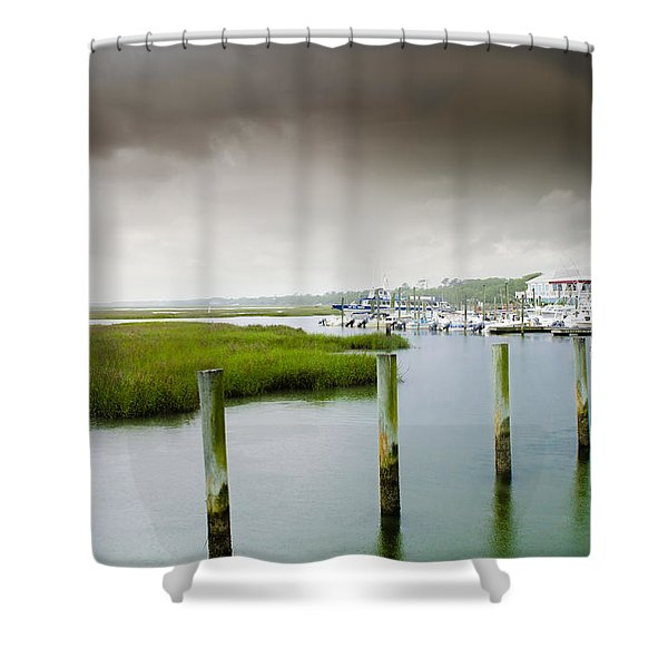 Colors Of The Coast Shower Curtain