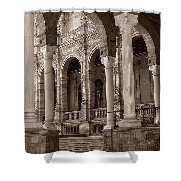 Columns And Arches Shower Curtain