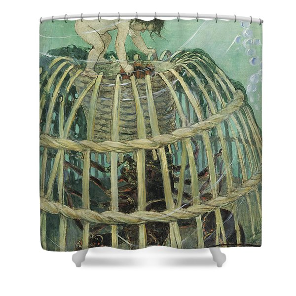 Come Out Circa 1916 Shower Curtain