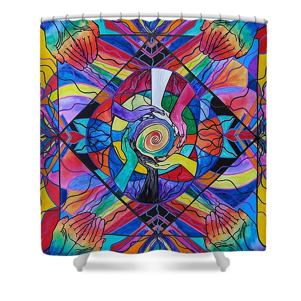 Come Together Shower Curtain