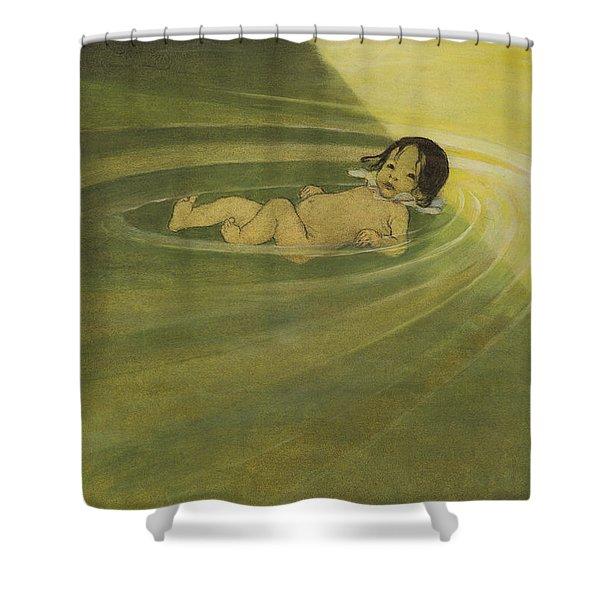 Comfortable Circa 1916 Shower Curtain