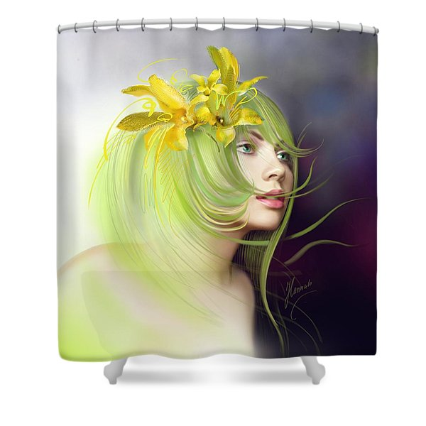 Coming Of Spring Shower Curtain
