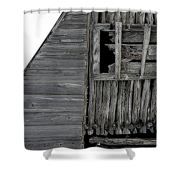 Commons Ford Barn Shower Curtain