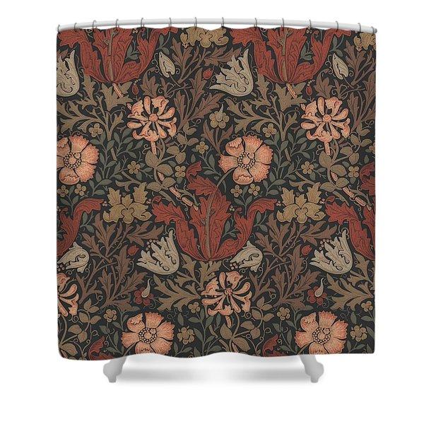 Compton Design Shower Curtain