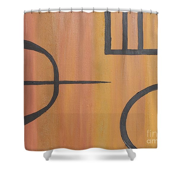 Concentration Training Shower Curtain