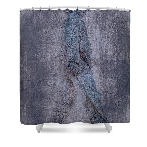 Soldier Statue Vii Alabama State Capitol Shower Curtain