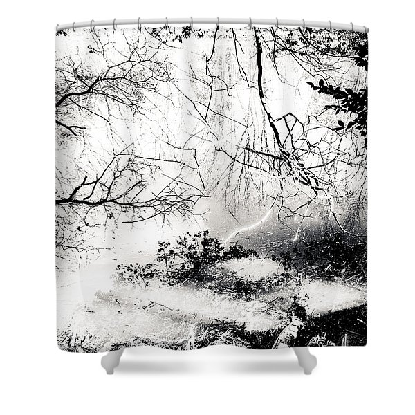 Confusion Of The Senses Shower Curtain