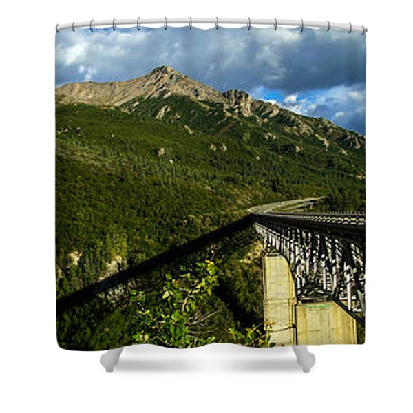 Connecting Life Shower Curtain